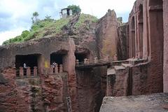 Ethiopia, Lalibela, The Bridge to Bete Gabriel Raphael Church