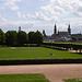 Blick vom Japanischen Palais zur Hofkirche