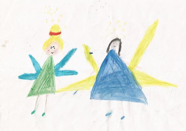 Keya's drawings and colouring #12