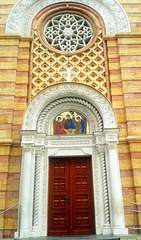 Temple of The Christ the Savior - detail