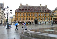 Lille - Rainy day.