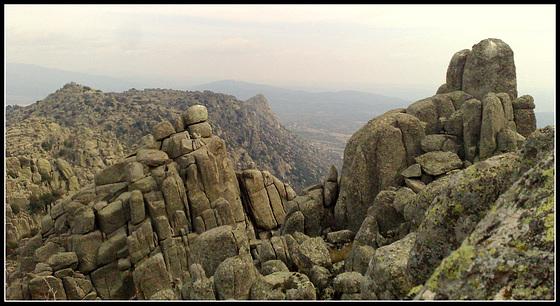 A view that typifies La Sierra de La Cabrera.