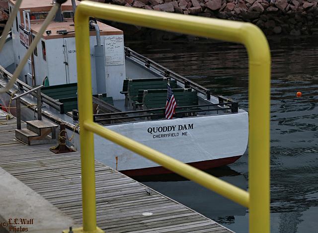 """HFF -- """"Quoddy Dam"""", Passenger Ferry (3 of 3)"""