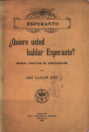 ¿Quiere Vd. hablar Esperanto?