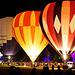 Ballonglühen - Balloon night glow - mit PiP