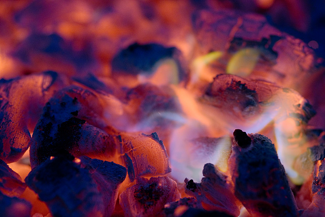 The beauty of fire