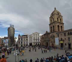 La Paz, Plaza Mayor and San Francisco Cathedral