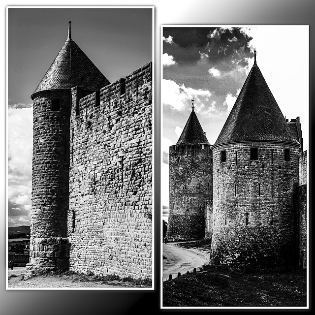 Towers of Carcassonne