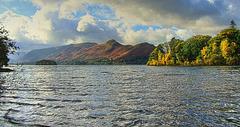 Autumn colours over Derwent Water