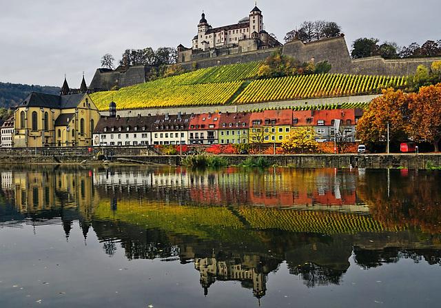 Ein November-Spaziergang am Main - A November  walk along the river Main (1)