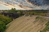 rail bridge, Moose Jaw