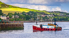 Fishing Boat Entering Campbeltown Harbour