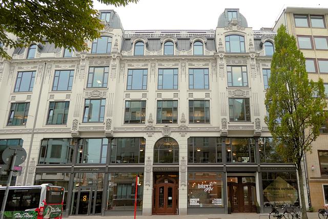 Kontorhaus Holstenhof an der Kaiser-Wilhelm-Straße (3xPiP)