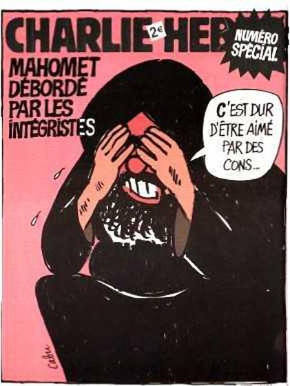 Hommage à Cabu et à tous les membres de Charlie Hebdo...
