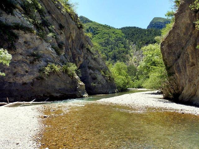 Gorges de l'Oule, Drôme Provençale