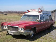 1970 Cadillac Superior Ambulance