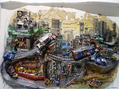 City life, by Bordalo II.