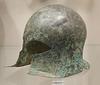 Bronze Helmet of Corinthian Type in the Metropolitan Museum of Art, March 2018