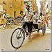 Chaotic traffic in Delhi - INDIA