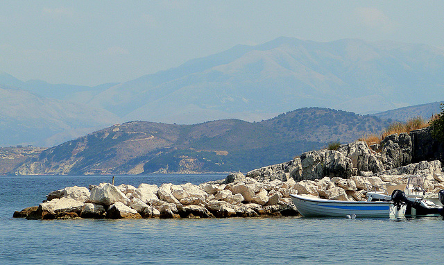 Near Kassiopi, Corfu, Greece