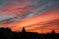Sonnenaufgang an Hl. Abend