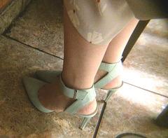 heels at bar