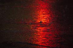 red light rain