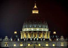 Die Kuppel von San Pietro