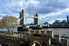 England 2016 – The Tower of London – View of Tower Bridge