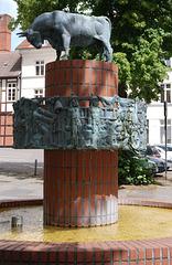 Der Brunnen am Schlachtermarkt