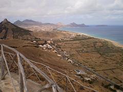 Overall view of Porto Santo Island.