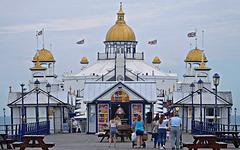 Walking on the pier