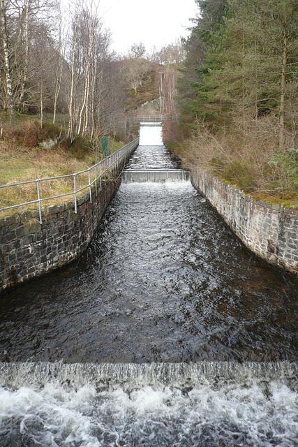 Waterfall At Loch Katrine