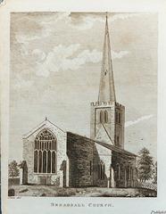 Breadsall Church, Derbyshire