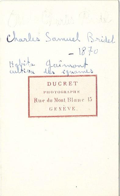 Charles-Samuel Bridel (reverse)