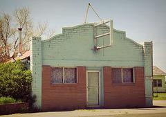 Abandoned cafe