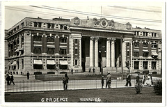 WP1941 WPG - C.P.R. DEPOT (IRON FENCE)
