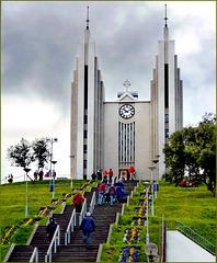 Akureyrarkirkja -Lutheran church - (518)