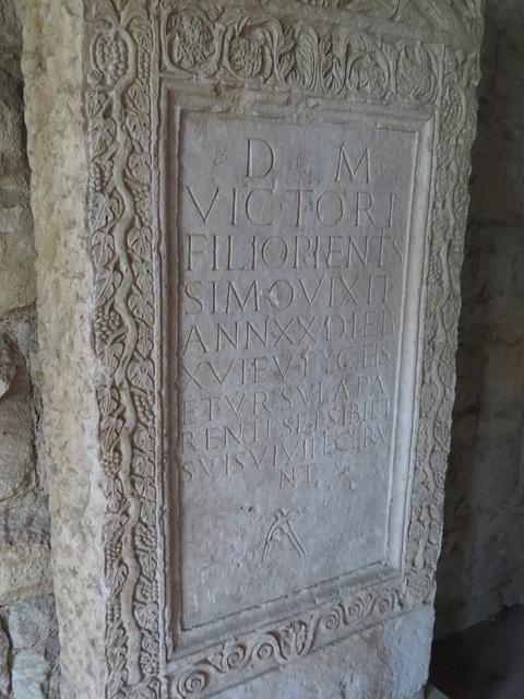 Musée archéologique de Split : CIL III, 8467.