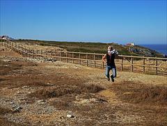 Cabo Espichel, Happiness is a warm gun, HFF!