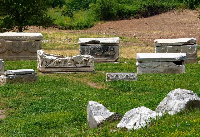 i sarcofagi di Efeso - (457)