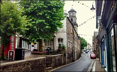 Penryn, Cornwall - a typically cloudy summer's day!