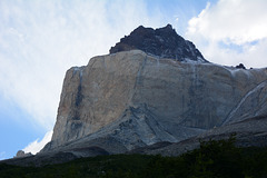 Chile, Cordillera Paine - Walls of Noth Horn
