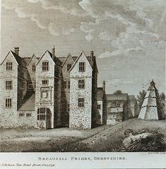 Breadsall Priory, Derbyshire