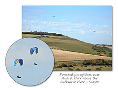 Paragliding at High & Over Sussex - 7.9 2016