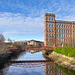 White Cart Water, Seedhill Footbridge and Anchor Mill, Paisley