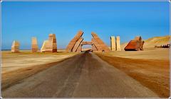 SHARM EL-SHEIK : Ras Mohammed, la porta di Allah : qui inizia il parco marino naturale (lato sud)