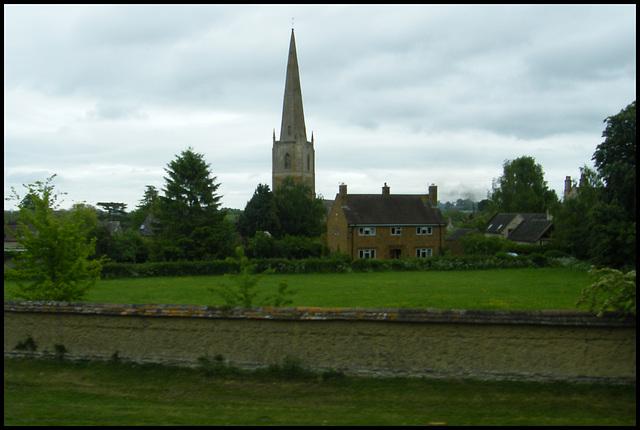 spire of St Gregory at Tredington
