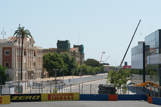 View From The Valencia Street Circuit