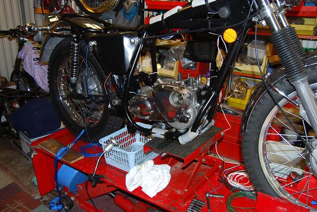 Engine  rebuild